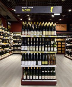 silver pine cork flooring forna fusion wine shop store department in supermarket