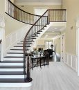 silver pine forna fusion floating flooring cork foyer area