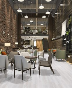 silver pine fusion cork floor forna loft luxury hotel lobby