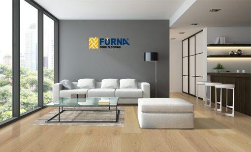 silvermoon engineered hardwood flooring tortilla peanut brown color bright living room apartment forna