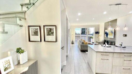 snowflake engineered hardwood flooring living room