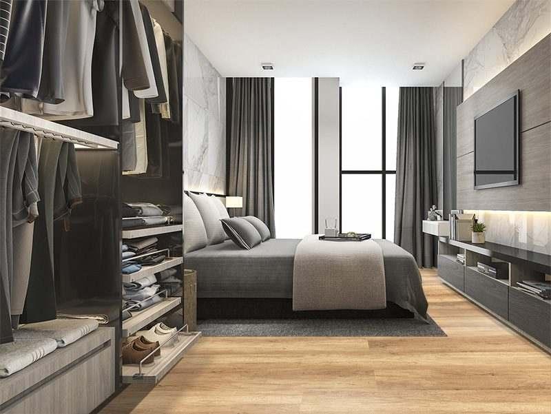 spanish cedar design cork floor wood colour bedroom interior design