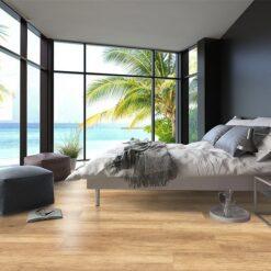 spanish cedar design cork floor wood ocean view bedroom interior design