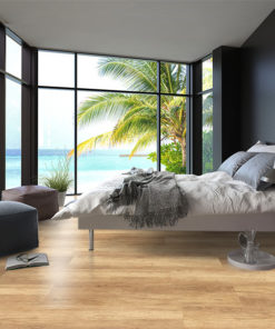spanish cedar design cork floor wood ocean view bedroom interior design