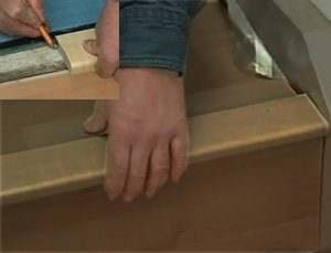 stair installation cork flooring floating nosing