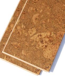 tasmanian burl cork floor plank floating uniclc