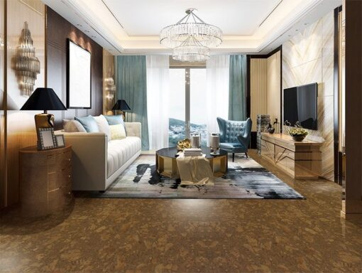 tasmanian burl forna cork tiles eco friendly living room