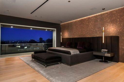 tasmanian burl forna cork wall tiles sound absorbing panels bedroom