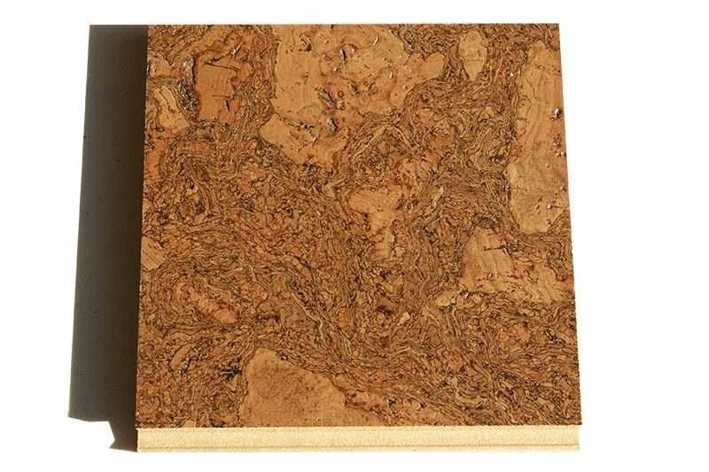 tasmanian cork floor floating sample