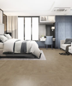 taupe leather cork floor beautiful luxury bedroom suite in hotel best flooring for allergies