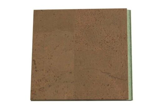 taupe leather floating cork-flooring1 1mm sample