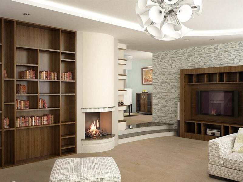 taupe leather forna cork floors modern living room design