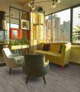 teak forna fusion cork floor interior modern urban restaurant flooring