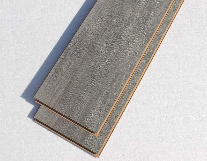 teak fusion cork click gray middle colour durable no scratch