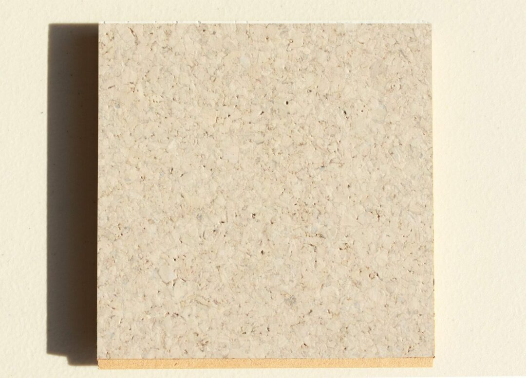 terrazzo 10mm cork floating flooring sample