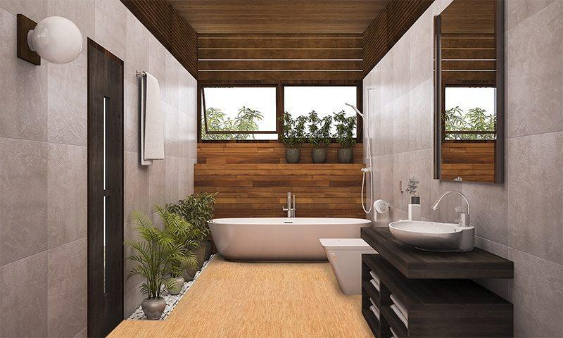 tiles for bathrooms silver birch cork flooring