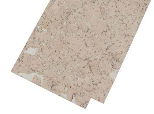 wall cork tiles creme 3mm natural
