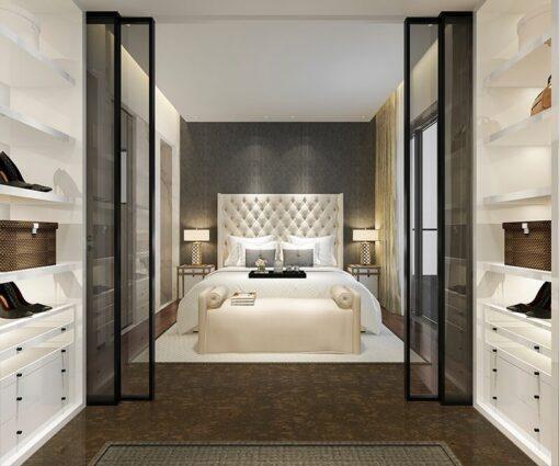 walnut burlwood cork floor beautiful classic luxury bedroom suite in hotel green flooring options