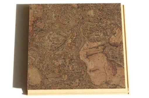 walnut burlwood floating cork flooring 12mm sample