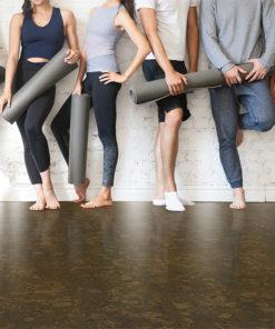 walnut burlwood forna cork floor fitness centre loft studio healthy