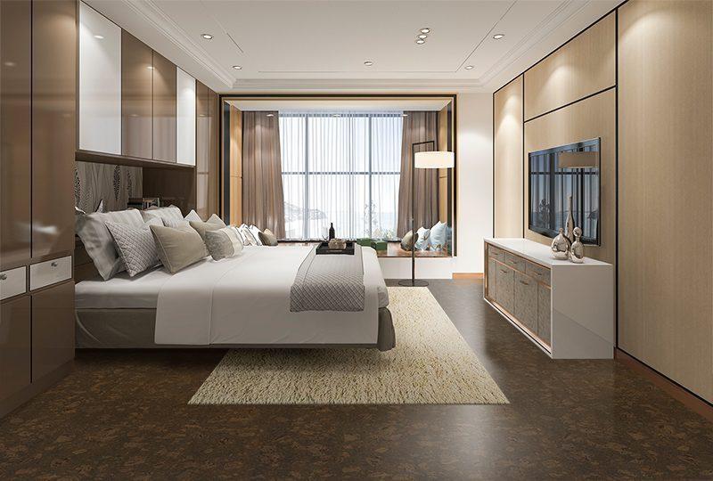 walnut burlwood non toxi flooring cozy bedroom option