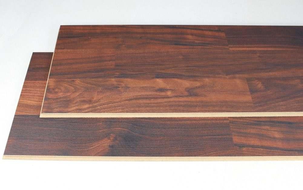 walnut printed cork flooring