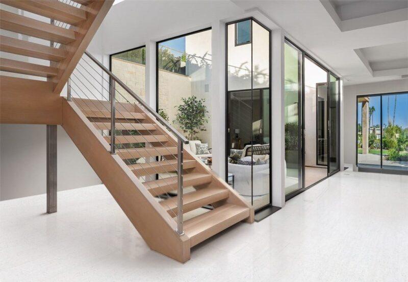 white bamboo cork floating flooring best basement flooring options over concrete