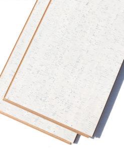 white bamboo cork floating uniclic floor plank tile