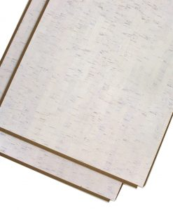 white bamboo cork floating uniclic floor plank tile