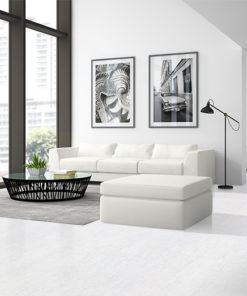 white bamboo cork flooring luxury and modern living room