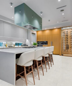 white cork flooring forna leather kitchen
