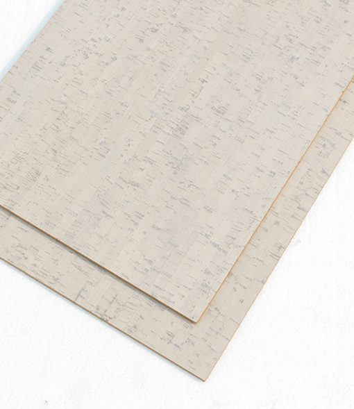 white cork tiles bleached birch 6mm package