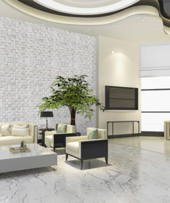 white cubes cork acoustic wall panel sound absorbing control and reduce noise eliminate slap echo and control comb filtering in a room