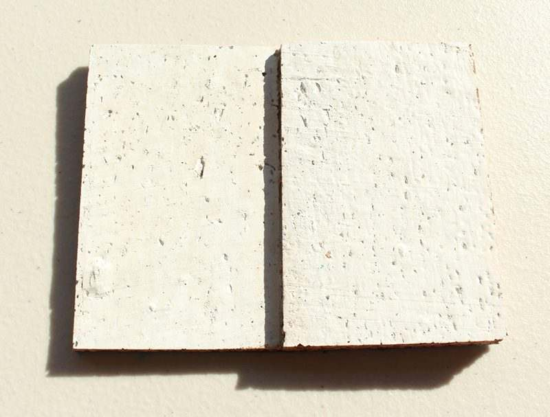white cubes cork wall panels peel and stick