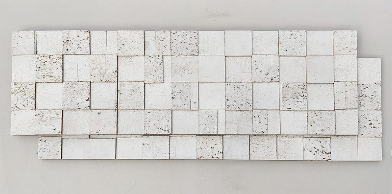 white cubes decorative sound absorbing wall panels peel and stick