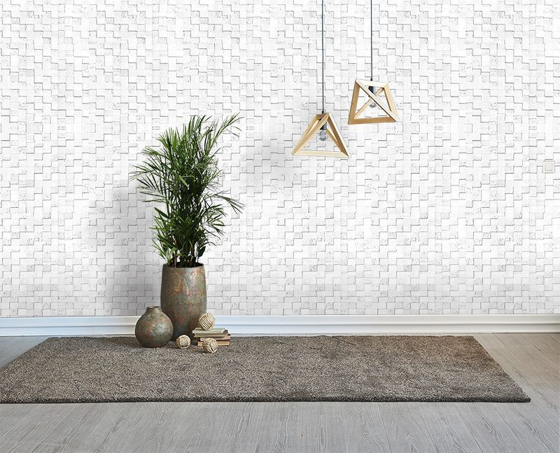 white cubes peel and stick noise absorbing cork wall panels office grey floor