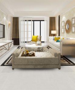 white leather forna cork eco friendly floor tiles living room