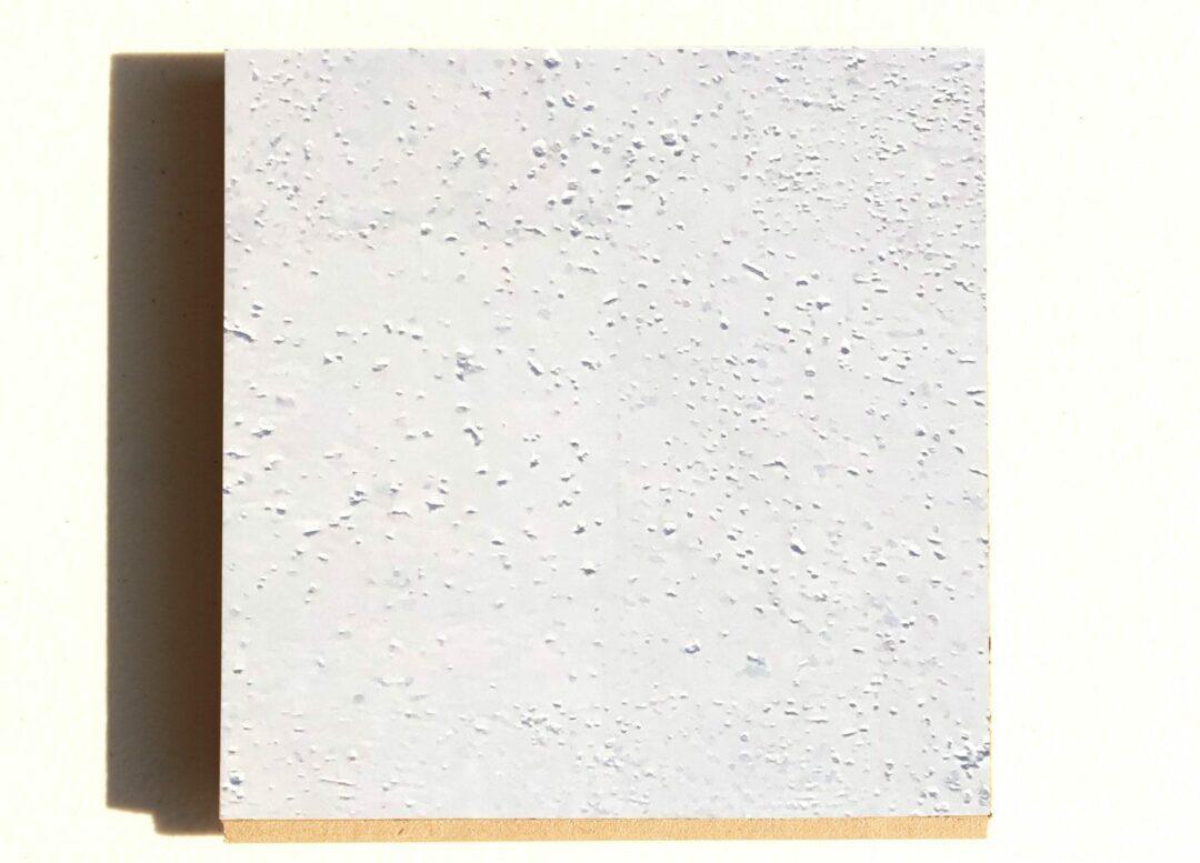 White leather Cork Floating Flooring Sample