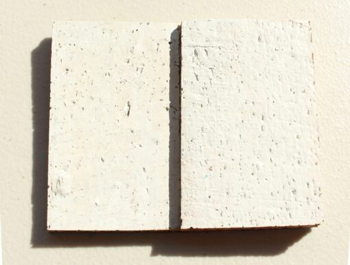 whitewashed brick peel and stick 10mm cork wall tiles sample