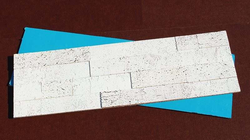 whitewashed brick peel and stick 10mm cork wall tiles sound insulation