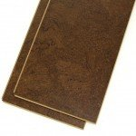wide plank cork flooring brown salami
