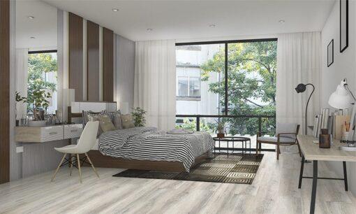 wild oak design cork floating floor living room