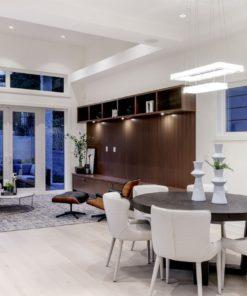 winter sky oak white engineered hardwood flooring living room dinning