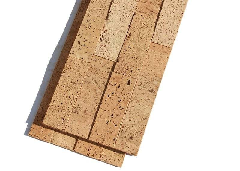 wood bricks cork wall panels green eco soundproofing tiles