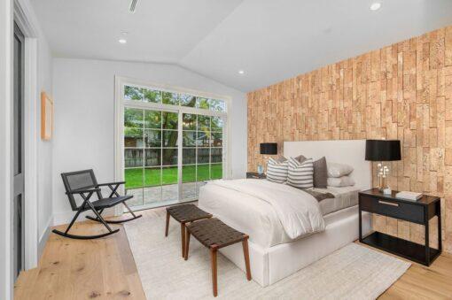 wood bricks cork wall panels sustainable soundproofing tiles