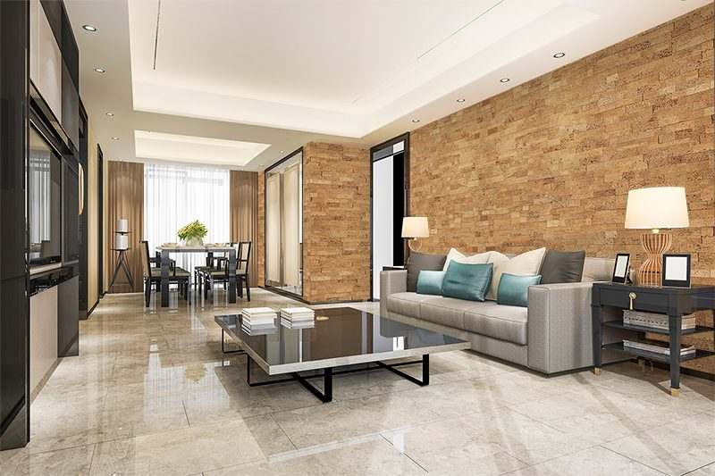 wood bricks forna wall panels living room soundproofing materials - noise reducing fire resistance material
