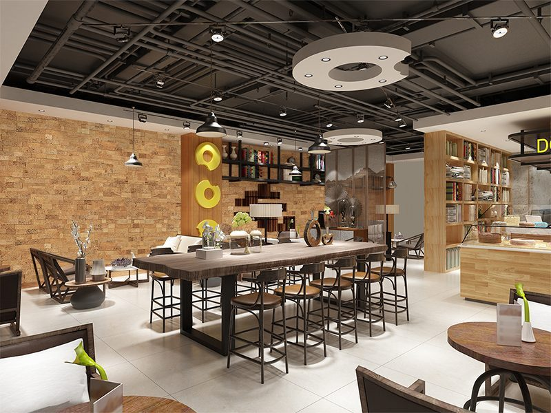 wood bricks forna wall panels restaurant soundproofing materials - noise reducing fire resistance material