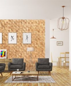 wood cubes cork wall panels peel and stick in office living room