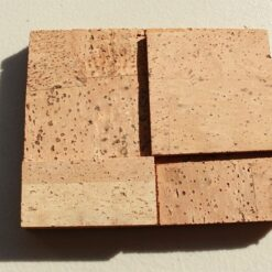 wood cubes cork wall panels peel and stick sample