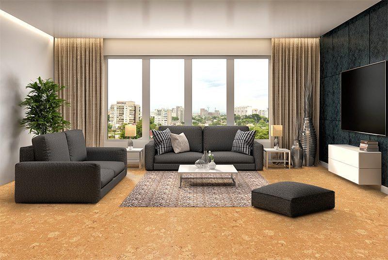 wood ridge cork flooring interior design acoustics healthy home